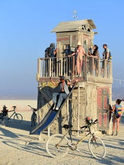 Images of Burning Man 2017