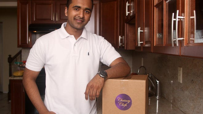 Chutney Chefs founder Akhil Shah is from Edison, which has a big Indian American population.