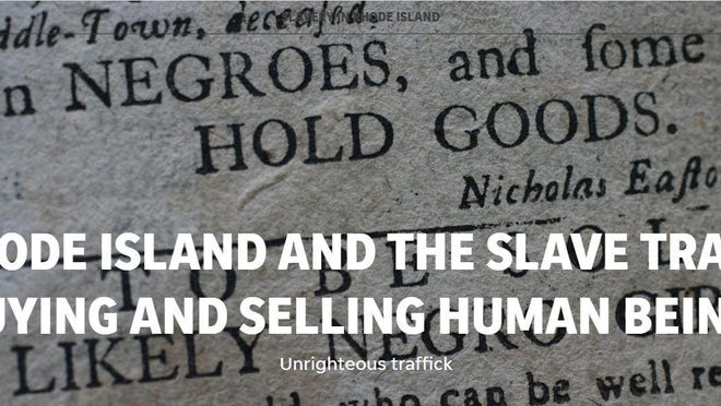 Image from The Journal's online presentation of Paul Davis' series on slavery.