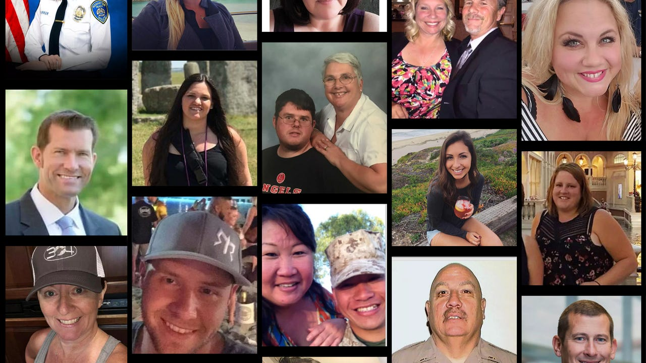 Coroner says all Vegas victims now identified