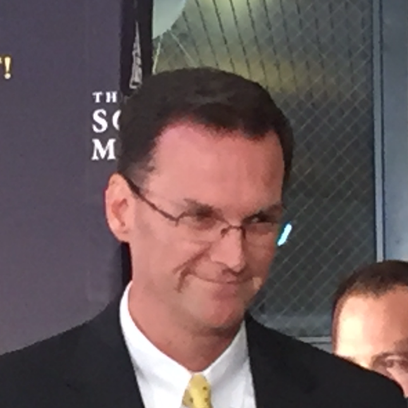 Southern Miss athletic director Jon Gilbert.