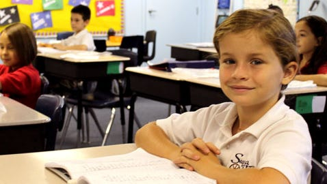 Small class sizes at Sequoia Lehi offer one-on-one learning opportunities.