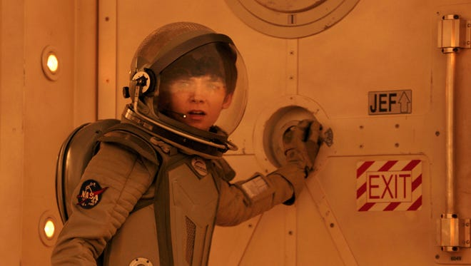 """This image released by STX Productions shows Asa Butterfield in a scene from """"The Space Between Us."""" (STX Productions via AP)"""