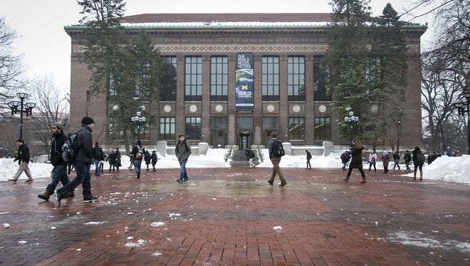A drop-off in donations to the University of Michigan this year is no reason for concern, university officials said.