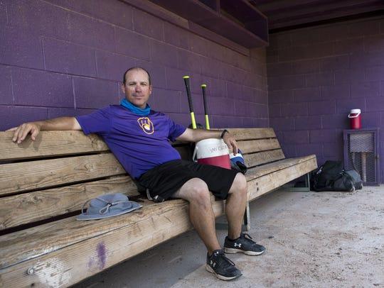 Mike Masciangelo is a PE teacher and baseball coach