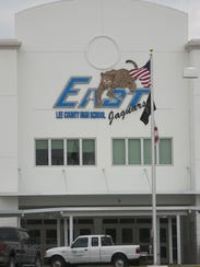 Five teachers at East Lee County High School have been
