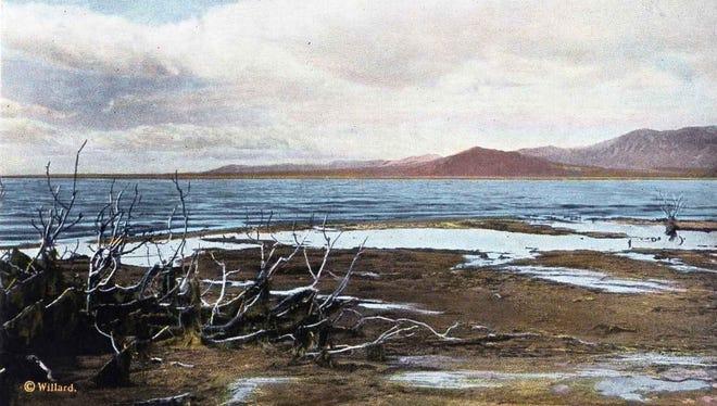The Salton Sea.