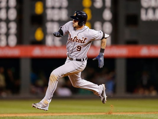 MLB: Detroit Tigers at Colorado Rockies