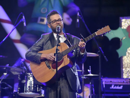 Josh Kaufman performs during Downtown Indy's 54th annual