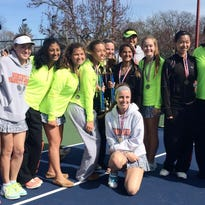 The No. 1-ranked Northville girls tennis team captured Saturday's Grosse Pointe South Quad with a team-high 22 points.