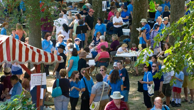 The Arden Fair returns for its 111th iteration, rain or shine, on Sept. 1.