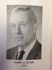 Harry L. Oyler, now a resident of the Menno Haven retirement