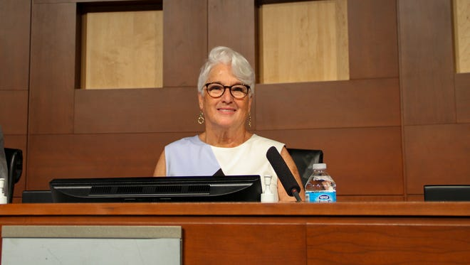 The Surprise City Council appointed Nancy Hayden to the District 2 seat, replacing her late husband, on Feb. 6, 2018.
