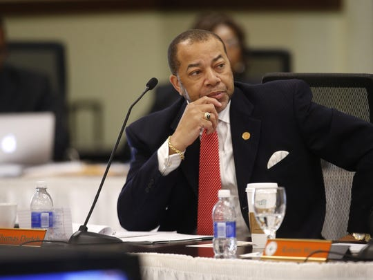 Thomas W. Dortch Jr., a member of the FAMU Board of Trustees and chairman and CEO of TWD, Inc.,