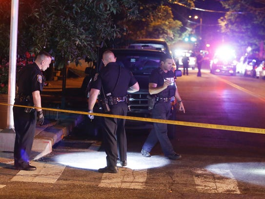 Wilmington police investigate a report of a shooting