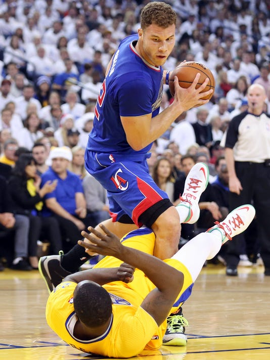 Blake Griffin and Draymond Green