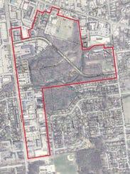 South Burlington TIF District: The TIF District is