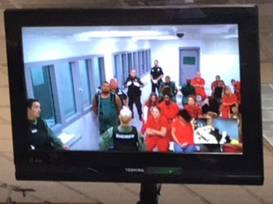 Arturo Gonzalez appears before Judge Zachary Gill at