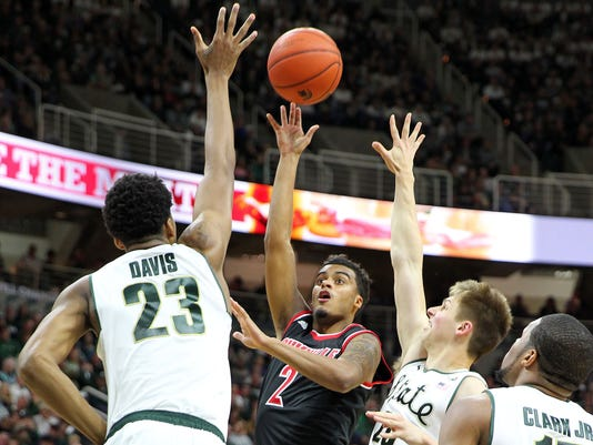 NCAA Basketball: Louisville at Michigan State
