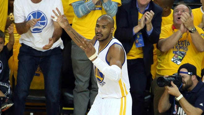 Leandro Barbosa was a key reserve for the NBA champion Warriors this past season.