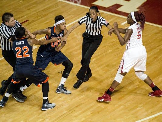 APTOPIX Auburn Alabama Basketball