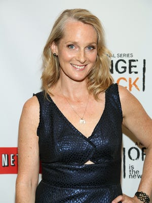 "Author Piper Kerman attends ""Orange Is The New Black"" New York Premiere at The New York Botanical Garden on June 25, 2013 in New York City."