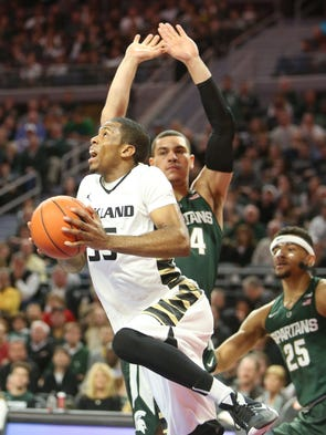 Michigan State basketball takes on Oakland on Dec.