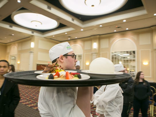 Lake Forest culinary student Sterling Calli and his