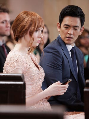 """""""Selfie,"""" premiering Tuesday, Sept. 30 on ABC stars Karen Gillan and John Cho in an update of """"My Fair Lady."""""""