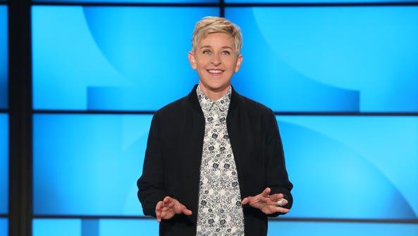 Ellen DeGeneres bravely makes it through the taping