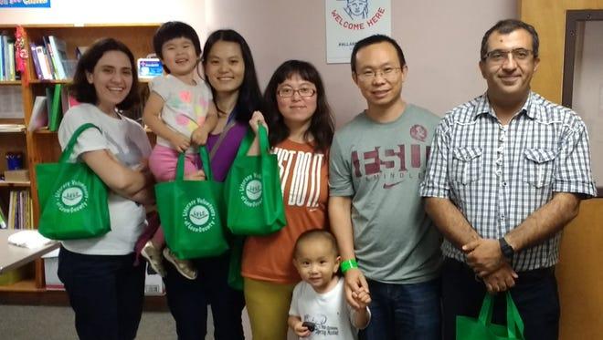 Attendees of the LVLC 2017 Health Fair