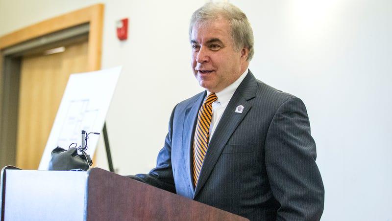 Eblen Charities' Bill Murdock returns UNCA degree amid