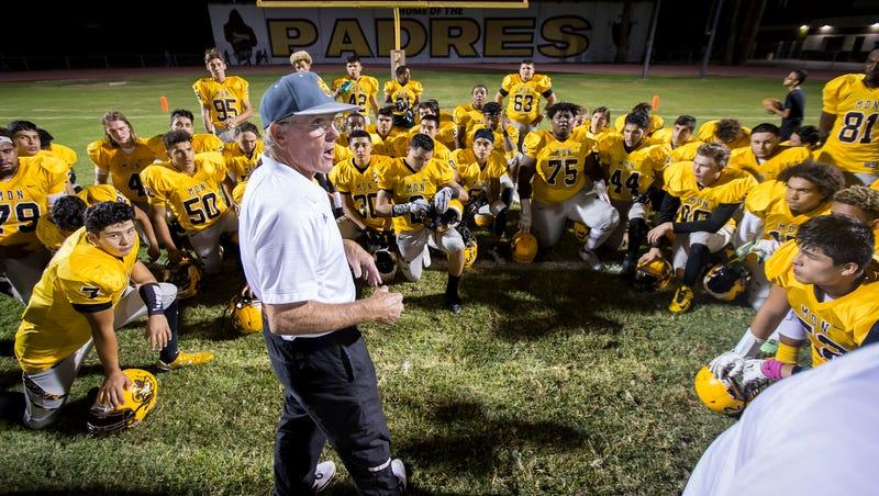 Arizona high school football coaching icon Paul Moro suffers second