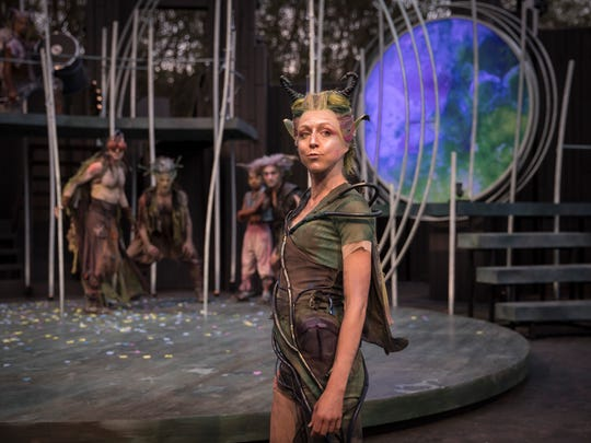 "Cristina Panfilio portrays Puck in American Players Theatre's 2018 production of ""A Midsummer Night's Dream."" APT's 2019 shows include ""Macbeth"" and August Wilson's ""Fences."""