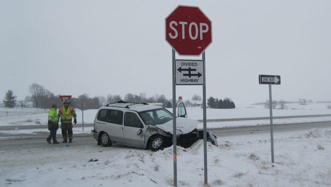 Seventy-two-year-old Larry Wilson of Delphi died after he drove his minivan into the path of a southbound vehicle on the Hoosier Heartland Tuesday afternoon.