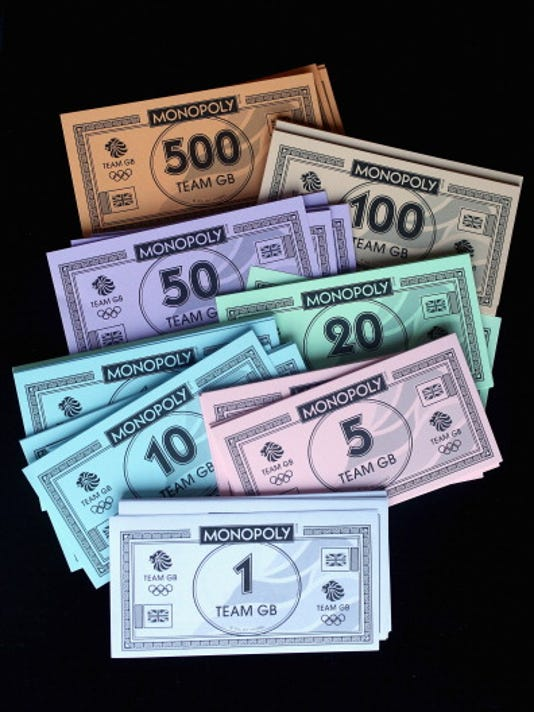 how to play monopoly with real money