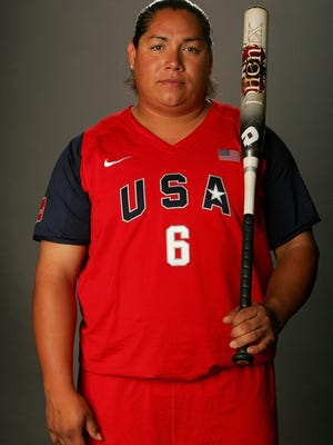 Crystl Bustos, the former designated hitter and third baseman for the U.S. Softball Women's National Team, will be in El Paso this weekend for the Simply the Best Camp at Skyline Park in Northeast El Paso.
