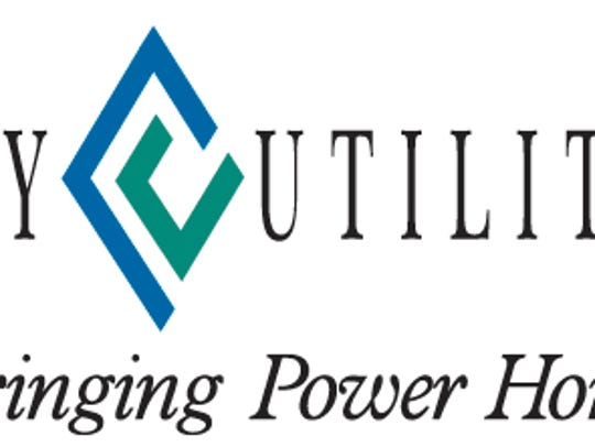 This is the old City Utilities logo and motto.