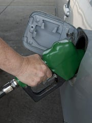 Prices in the Detroit area were about $2.82 per gallon, down 10 cents from a week ago.