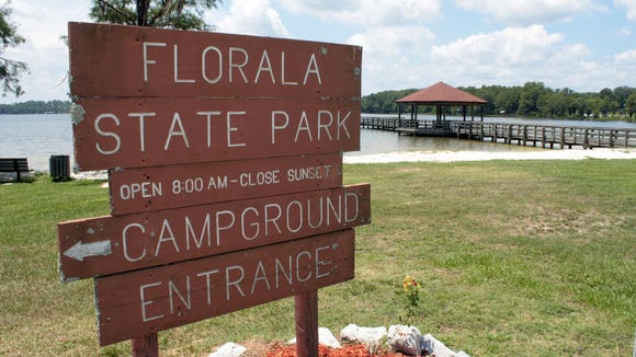 The city of Florala will take over operations of Florala State Park on Friday.