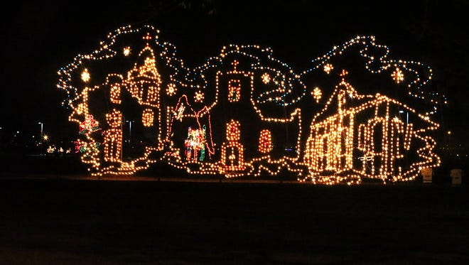 Lights on the Lake, the traditional holiday light structures return at Ascarate Park, 6900 Delta, can be viewed nightly from sundown to 10 p.m. through Monday.