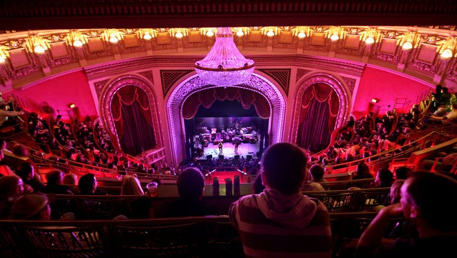 The Pabst Theater, Milwaukee, is a National Historic Landmark.