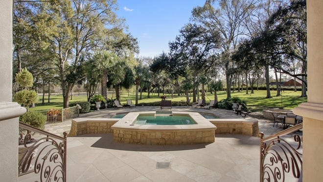 This beautiful estate is located at  5520 Moss Street, in Lafayette. It has 4Br, 41/2Ba and is listed at  $3,999,000.