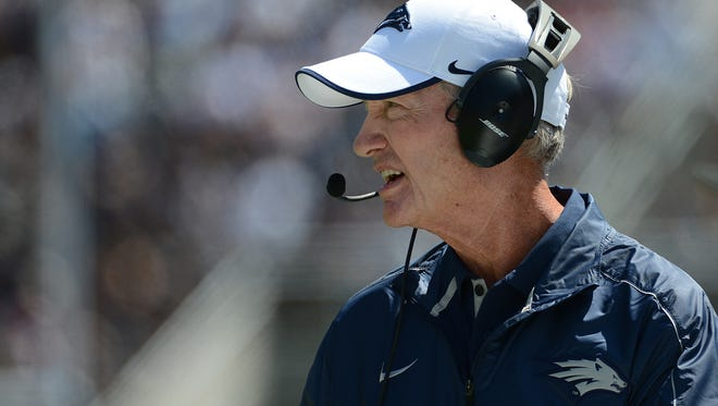 Former Wolf Pack coach Chris Ault led the Milan Rhinos to a 10-0 record this regular season in the Italian Football League.
