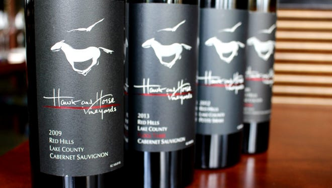 Mitch Hawkins of Hawk and Horse Vineyard will be in town next week to host a five-course dinner and sign a few bottles.
