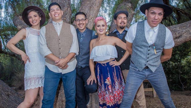 Las Cafeteras will perform at 7 p.m. on Thursday, Oct. 13, 2016 in Light Hall at Western New Mexico University in Silver City.