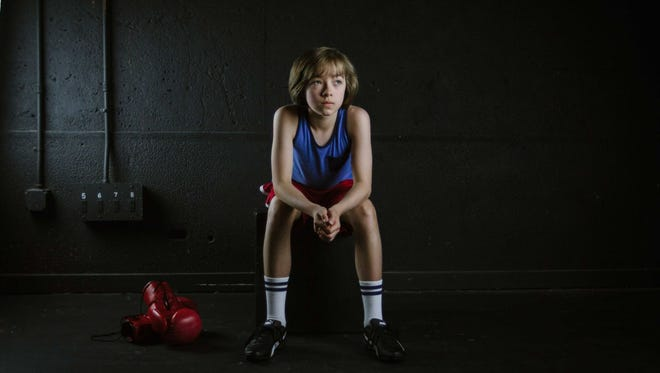 "Seth Judice, 13, stars in Phoenix Theatre's ""Billy Elliot the Musical."""
