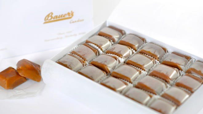 Bauer's Candies Chocolate or Caramel Modjeskas purchased after Nov. 14, 2018, might be contaminated with hepatitis A.