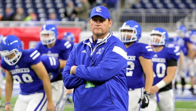 New Novi Detroit Catholic Central football coach Dan Anderson