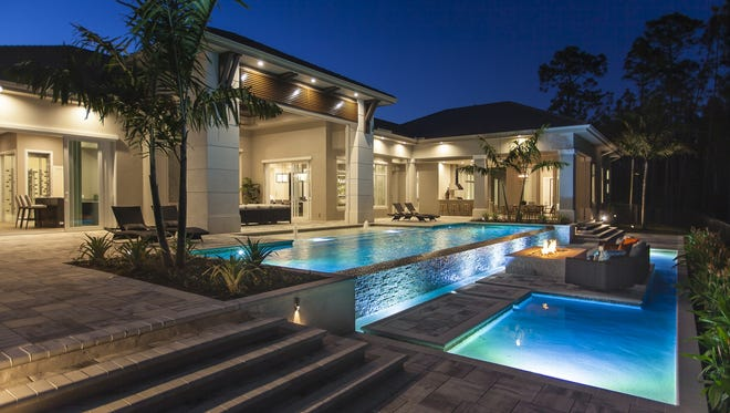Seagate Development GroupLLC's Pine Valley grand estate residence is open for viewing and purchase inQuail West priced at $4.295 millionwith furnishings.